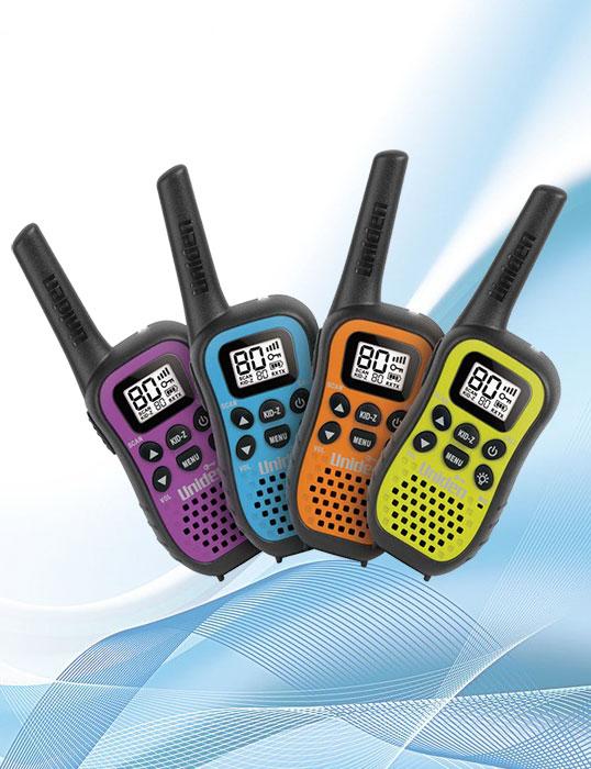 Uniden Uh45-4 UHF handheld radios